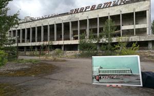 Černobyl - Ukrajina