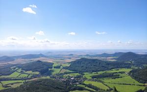 Milešovka - Česká republika